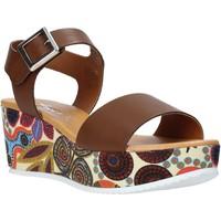 Sko Dame Sandaler Grace Shoes 03 Brun