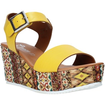 Sko Dame Sandaler Grace Shoes 06 Gul