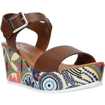Sko Dame Sandaler Grace Shoes 07 Brun