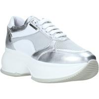 Sko Dame Lave sneakers Exton 1575 Sølv