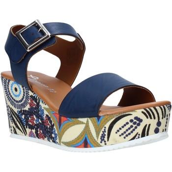 Sko Dame Sandaler Grace Shoes 07 Blå