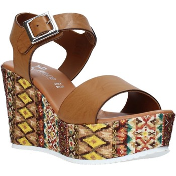Sko Dame Sandaler Grace Shoes 08 Brun