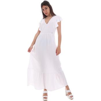 textil Dame Lange kjoler Gaudi 011BD15039 hvid
