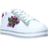 Sko Pige Lave sneakers Sweet Years S20-SSK416 hvid