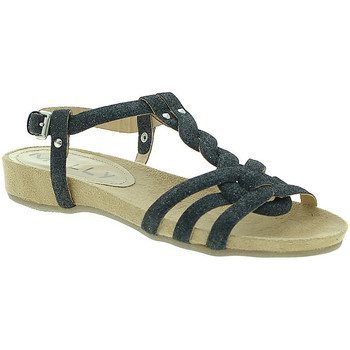 Sko Dame Sandaler Mally 3828GL Sort