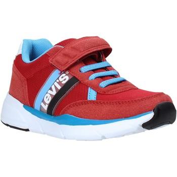 Sko Børn Lave sneakers Levi's VORE0031T Rød