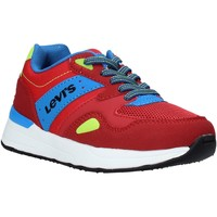 Sko Børn Lave sneakers Levi's VBOS0011T Rød