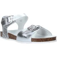 Sko Børn Sandaler Grunland SB1500 Sølv