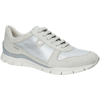 Sko Dame Lave sneakers Geox D52F2A 021GN Gul