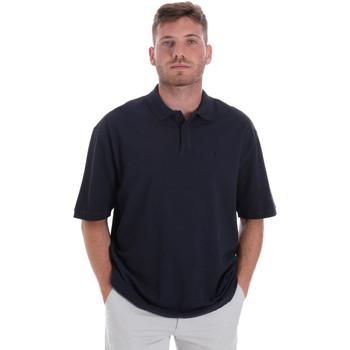 textil Herre Polo-t-shirts m. korte ærmer Les Copains 9U9016 Blå