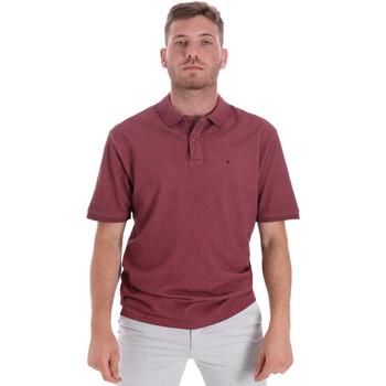 textil Herre Polo-t-shirts m. korte ærmer Les Copains 9U9016 Rød