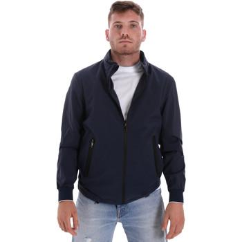 textil Herre Jakker Les Copains 9UB082 Blå