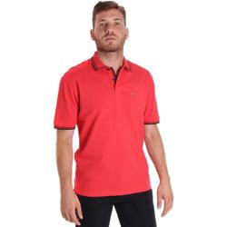 textil Herre Polo-t-shirts m. korte ærmer Les Copains 9U9020 Rød