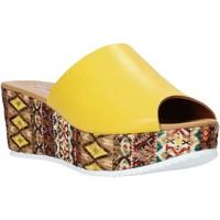 Sko Dame Tøfler Grace Shoes 10 Gul