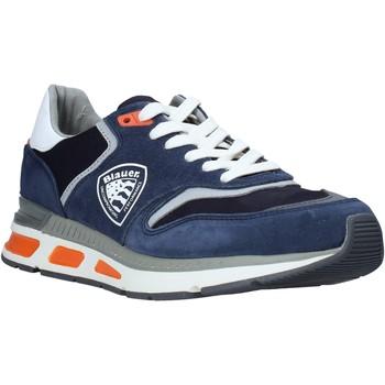 Sko Herre Lave sneakers Blauer S0HILO01/CAM Blå