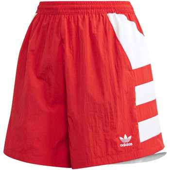 textil Dame Shorts adidas Originals FM2637 Rød
