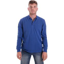 textil Herre Polo-t-shirts m. lange ærmer Navigare NV82109 Blå
