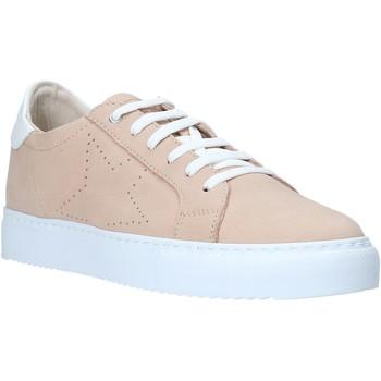 Sko Dame Lave sneakers Grunland SC4939 Lyserød