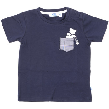 textil Børn T-shirts m. korte ærmer Melby 20E5070 Blå