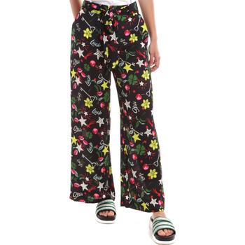 textil Dame Løstsiddende bukser / Haremsbukser Liu Jo WA0058 T9147 Sort