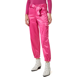 textil Dame Cargo bukser Liu Jo WA0351 T4153 Lyserød