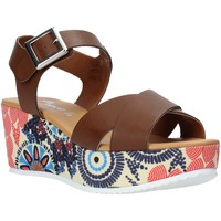 Sko Dame Sandaler Grace Shoes 12 Brun
