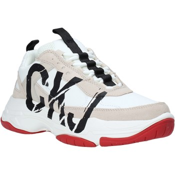 Sko Dame Lave sneakers Calvin Klein Jeans B4R0869 hvid