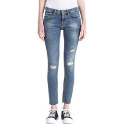 textil Dame Jeans - boyfriend Calvin Klein Jeans J20J207110 Blå