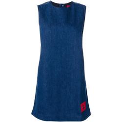 textil Dame Korte kjoler Calvin Klein Jeans J20J207406 Blå
