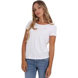 textil Dame T-shirts m. korte ærmer Ea7 Emporio Armani 8NTT64 TJ28Z hvid