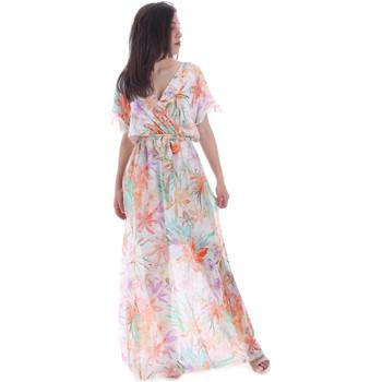 textil Dame Lange kjoler Gaudi 011FD15038 Orange