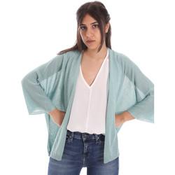 textil Dame Veste / Cardigans Gaudi 011FD53010 Blå