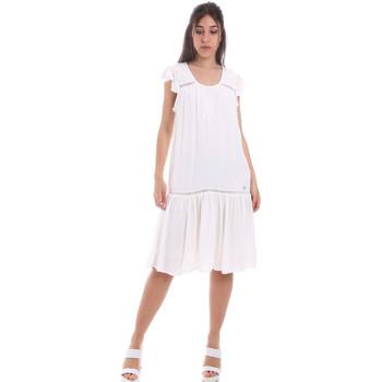 textil Dame Korte kjoler Gaudi 011BD15015 hvid