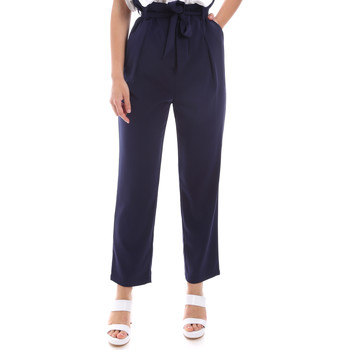 textil Dame Chinos / Gulerodsbukser Gaudi 011BD25040 Blå