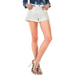 textil Dame Shorts Liu Jo F18281T9411 hvid