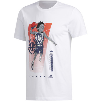 textil Herre T-shirts m. korte ærmer adidas Originals FM4760 hvid