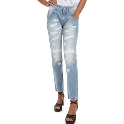 textil Dame Jeans Fornarina BER1I95D832DU Blå
