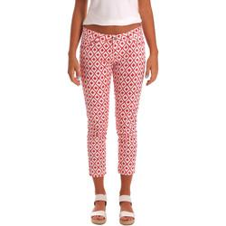textil Dame Halvlange bukser Gaudi 811BD25013 hvid