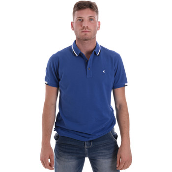 textil Herre Polo-t-shirts m. korte ærmer Navigare NV82113 Blå