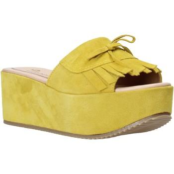 Sko Dame Tøfler Grace Shoes C3 Gul