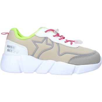 Sko Pige Lave sneakers Miss Sixty S20-SMS738 Grå