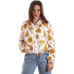 textil Dame Sweatshirts Versace C9HVB92525115003 hvid