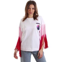 textil Dame T-shirts m. korte ærmer Versace B2HVB71511701003 hvid