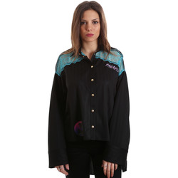 textil Dame Skjorter / Skjortebluser Versace B0HVB60310623899 Sort