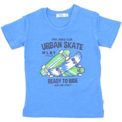 textil Børn T-shirts m. korte ærmer Melby 20E7370 Blå