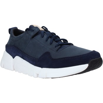 Sko Herre Lave sneakers Clarks 26141432 Blå