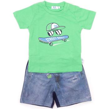 textil Børn Sæt Melby 20L7270 Grøn
