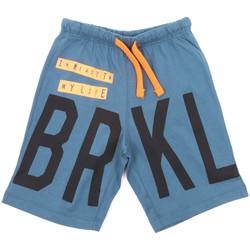 textil Børn Badebukser / Badeshorts Melby 70F5574 Blå