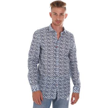 textil Herre Skjorter m. lange ærmer Sseinse CE508SS Blå