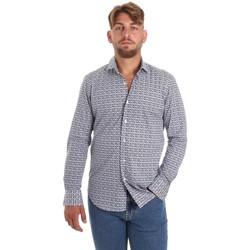 textil Herre Skjorter m. lange ærmer Betwoin SELZ 6635535 Blå